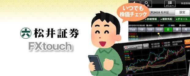スマホで株価チェックFXtouch