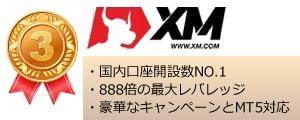 海外FXランキング3位XM